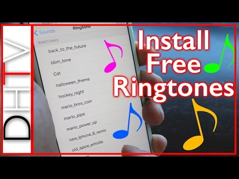 UPDATED - How To Install Free Ringtones For iPhone 6s. 5s. 4s. 6 Plus