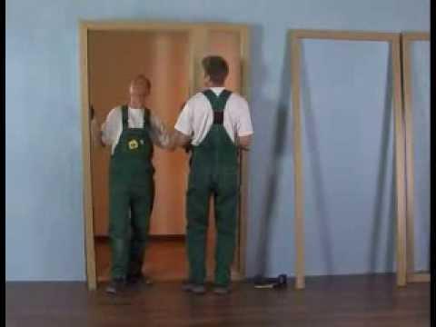 Drzwi pokojowe z ościeżnicą