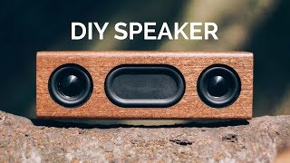 DIY Bluetooth Speaker TUTORIAL