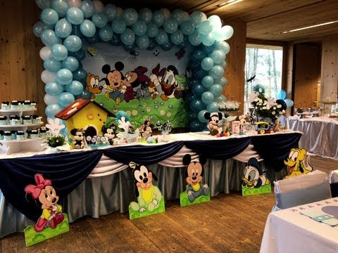 THE BEST Mickey Baby Party MELHOR FESTA Mickey Baby