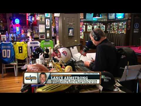 Lance Armstrong on the Dan Patrick Show (Part 1) 8/7/14