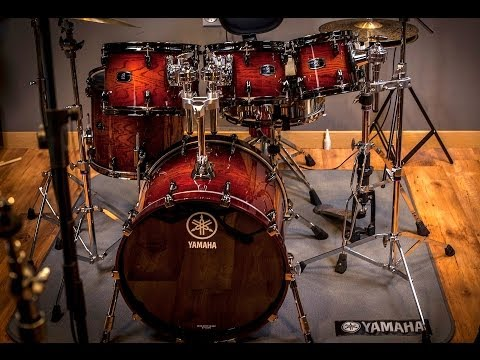 Related images to yamaha oak custom drums