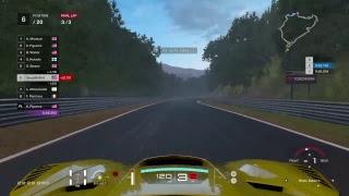 Corvette C7 GT3 Nordschleife Race