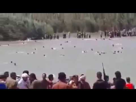 Fallujah / iraq , civilians Fleeingfrom  ISIS 2016