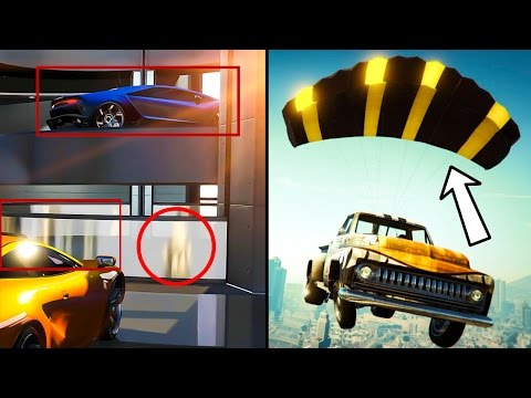 GTA ONLINE: IMPORT/EXPORT HIDDEN DETAILS & SECRET INFO - Car Parachutes, Amphibious Vehicles & MORE