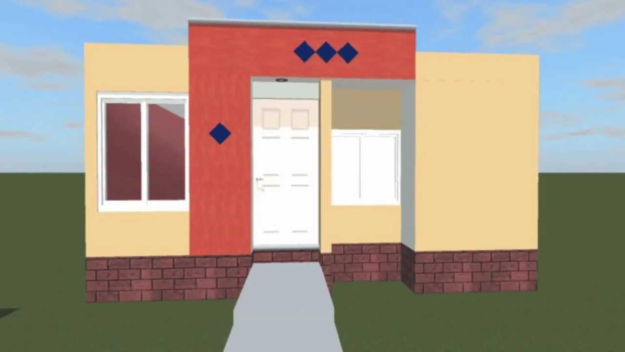 Remodelaci n casa infonavit col siglo xxi campeche youtube for Fachadas de casas modernas pequenas de infonavit