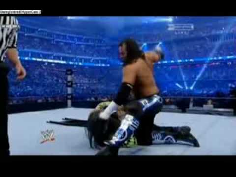 Jeff Hardy Vs Matt Hardy  Wrestlemania 25  Extreme Rules