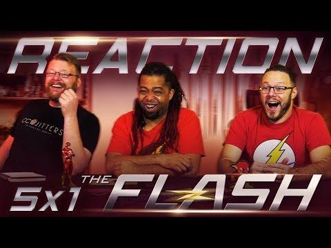 "The Flash 5x1 PREMIERE REACTION!! ""Nora"" Feat. AKASAN thumbnail"