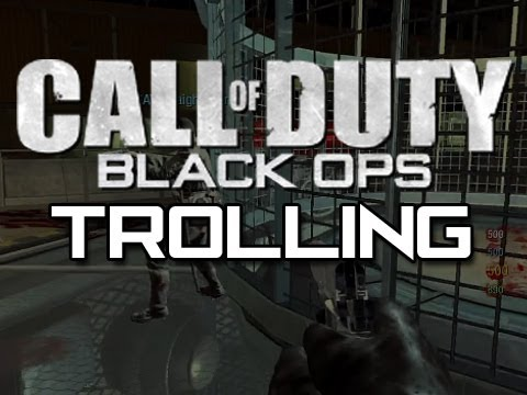 Black Ops Zombies Trolling 4 with Straight Up Knives (CRAZY LITTLE KID!)