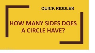 Quick Riddles    | GUESS ANSWERS  ?