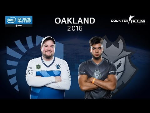 CS:GO: Liquid vs. G2 Esports [Nuke] - Group A - IEM Oakland 2016