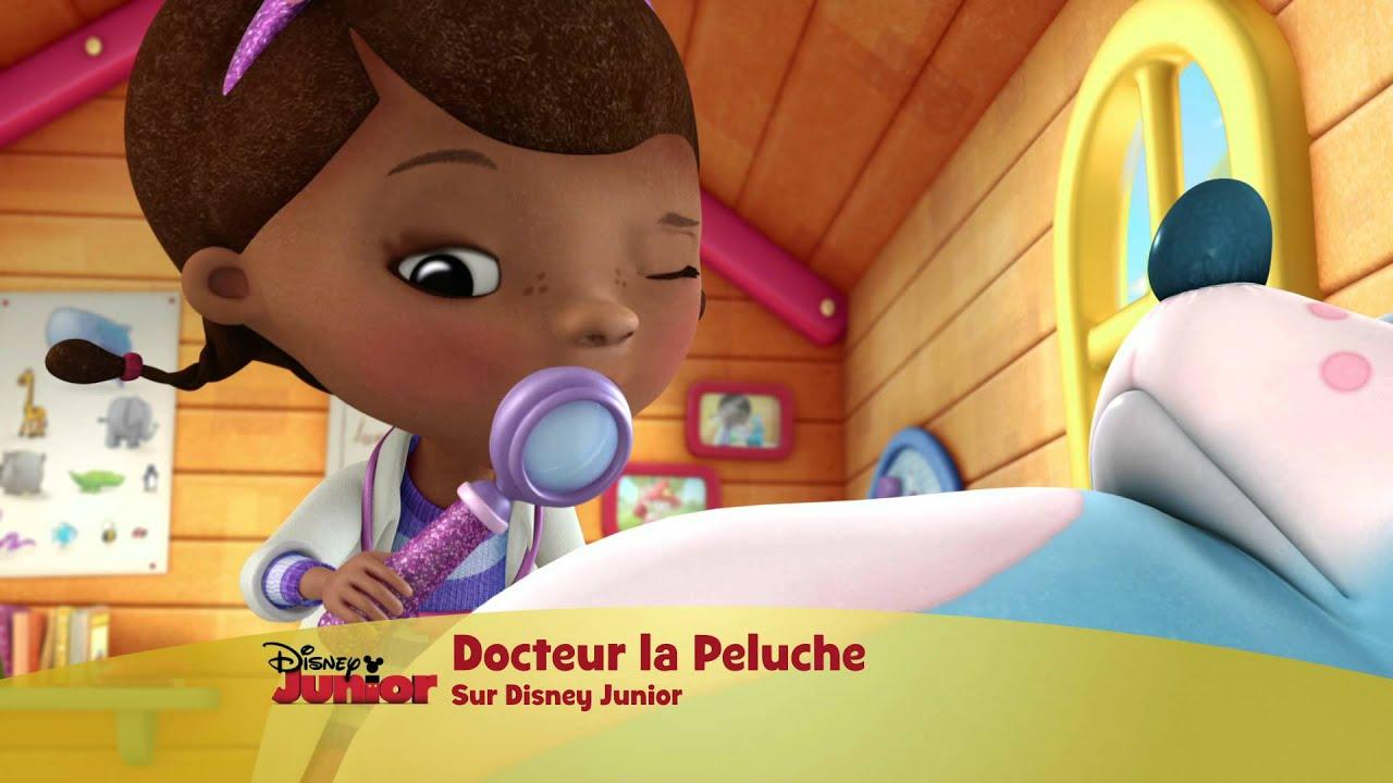 Docteur la peluche la nouvelle s rie de disney junior youtube - Toufy docteur la peluche ...