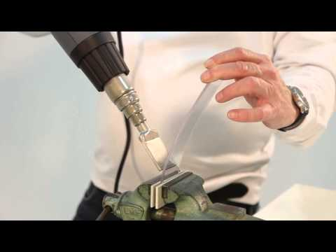 How To Bending Amp Shaping Plastic With Hot Air Gun Heat