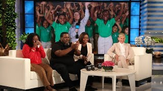 Ellen Meets Teachers, Surprises Students at Deserving Texas School