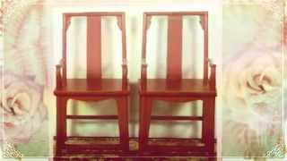 [Antique Chinese Screens] Video