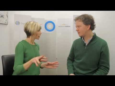 Cloudflare's CEO Matthew Prince speaks with Edie Lush at Hub Davos