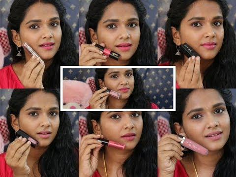 Top 7 Pink Lipsticks || For Indian Skin Tone Fair-Medium-Dusky || Tamil Youtuber ||