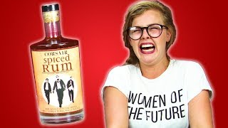 Irish People Taste Test American Rum