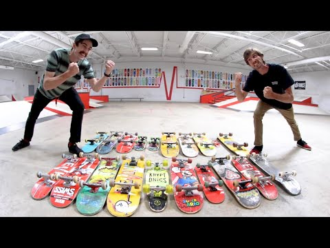 You Must Skate All The Boards! / Ryan Bracken VS Alex Buening