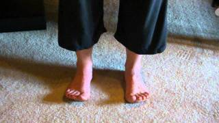 Toe Lifts--Exercises for the toes and arches of the foot