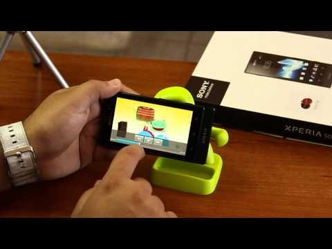 Sony Xperia Sola. unboxing y review