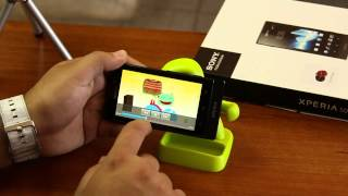 Sony Xperia Sola, unboxing y review