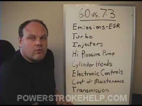 6.0 vs 7.3 POWERSTROKE FORD DIESEL 1 OF 6