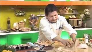 Мексиканское блюдо. буррито. кулинарный рецепт