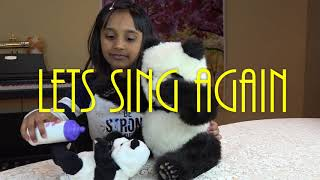 Daddy Panda Sing Lullaby to Baby Panda-Kids toys and fun Video, Toys for kids/Nursery rhyme for Kids