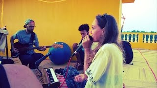 Shanti People  - Surya Narayana (Mantra Jam on the roof with Anatoly Gernadenko & Roland)