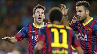 All Messi's goals against Sevilla CF (La Liga)