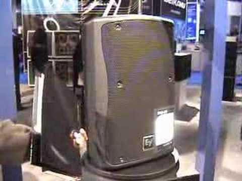 NAMM 2008 Electro Voice ZX-3 12in Loudspeaker Video