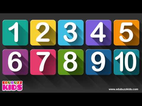 10 little numbers song for children | Numbers song | Ten little numbers.