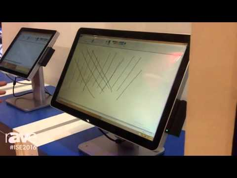 ISE 2016: TSD Electronics Technology Co. Highlights AIO215 Touch Monitor System