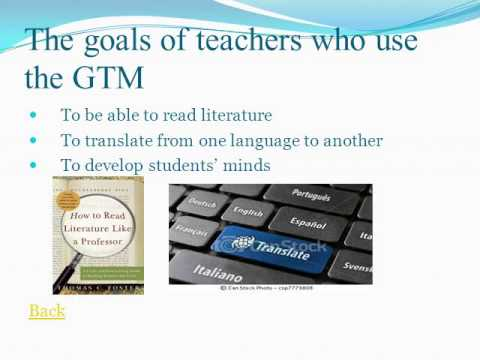 essay about grammar translation method