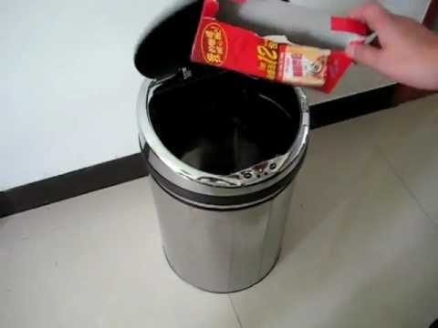 How Sensor Rubbish Bin works