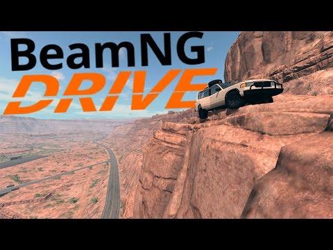 BeamNG Drive - Off Roading Hell - Juggernaut Scenarios - BeamNG Drive Gameplay Highlights