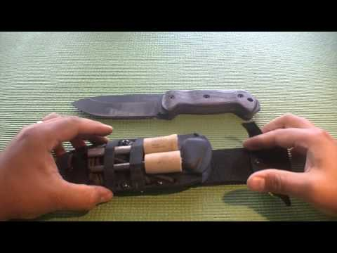 Kabar Becker BK2 knife review and modifications - Bushcraft