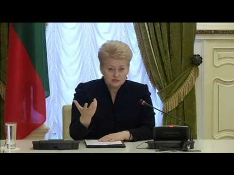 Ukraine Names Lithuanian President 'Person of Year': Dalia Grybauskaite is outspoken Kremlin critic