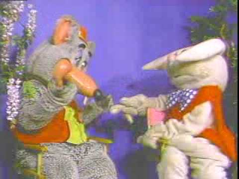Rapid T. Rabbit interviews Chuck E. Cheese Video