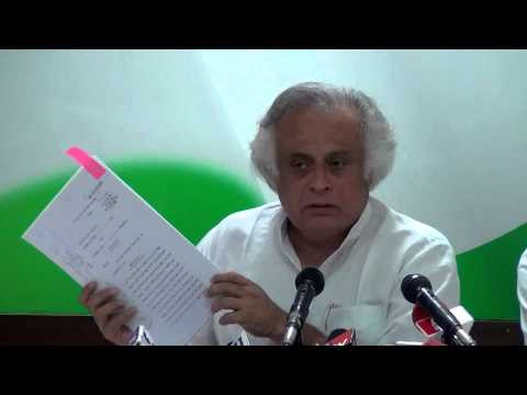 AICC Press Conference addressed by Jairam Ramesh