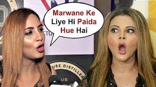 Arshi Khan Insults Rakhi Sawant In Interview