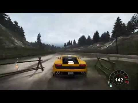 Need for Speed: Hot Pursuit - FreeDrive Gameplay, Lamborghini LP550-2