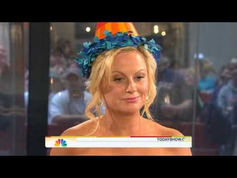Amy Poehler on Today Show