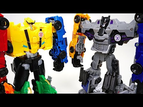 Transformers RID Combiner Force team 5 combine Menasor vs Ultra Bee : Bumblebee  - DuDuPopTOY