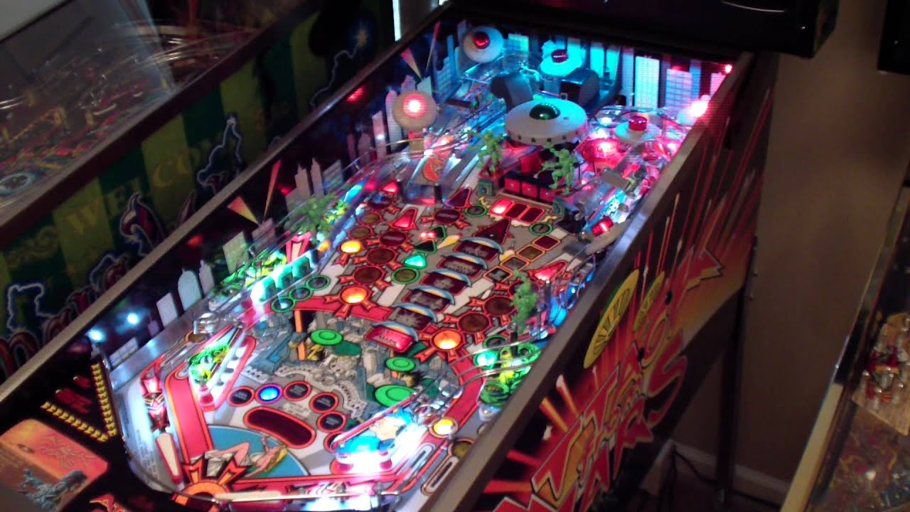 Images of Craigslist Revenge From Mars Pinball - #SpaceHero