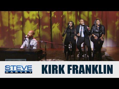 "Kirk Franklin performs ""Wanna Be Happy?""    STEVE HARVEY"