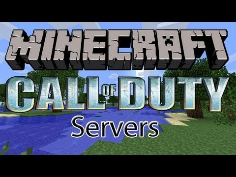 Minecraft Call of Duty Servers! 1.7.2 ( Rank up. Unlock guns and shoot people!!  )