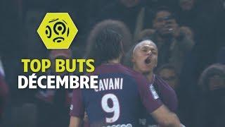 Top buts Ligue 1 Conforama - Décembre (saison 2017/2018)