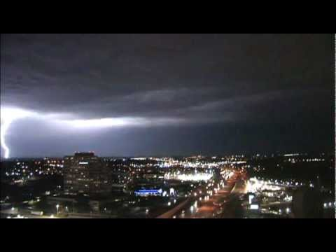 Lightning Over San Antonio